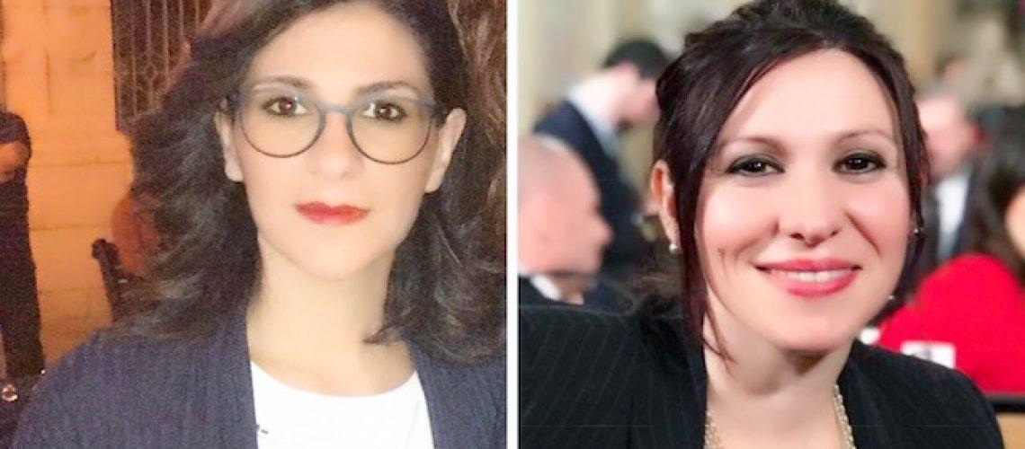 Marialucia Lorefice e Stefania Campo