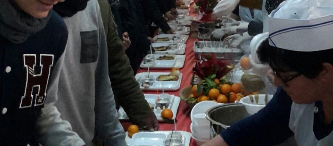 Sagra di Natale 2015 il cibo