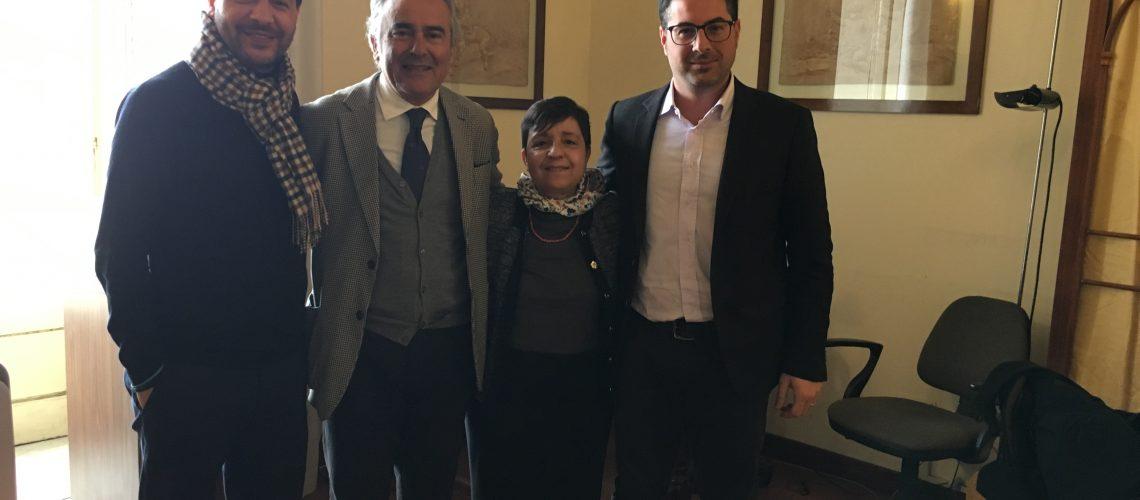 Serafino Arena, Orazio Ragusa, Bernadette Grasso e Paolo Monaca